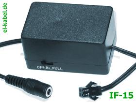 Elektrolumineszenz - 12V/DC Inverter